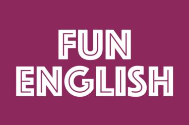 ドゥマゲッティの英会話カフェ『ファン・イングリッシュ』ロゴ