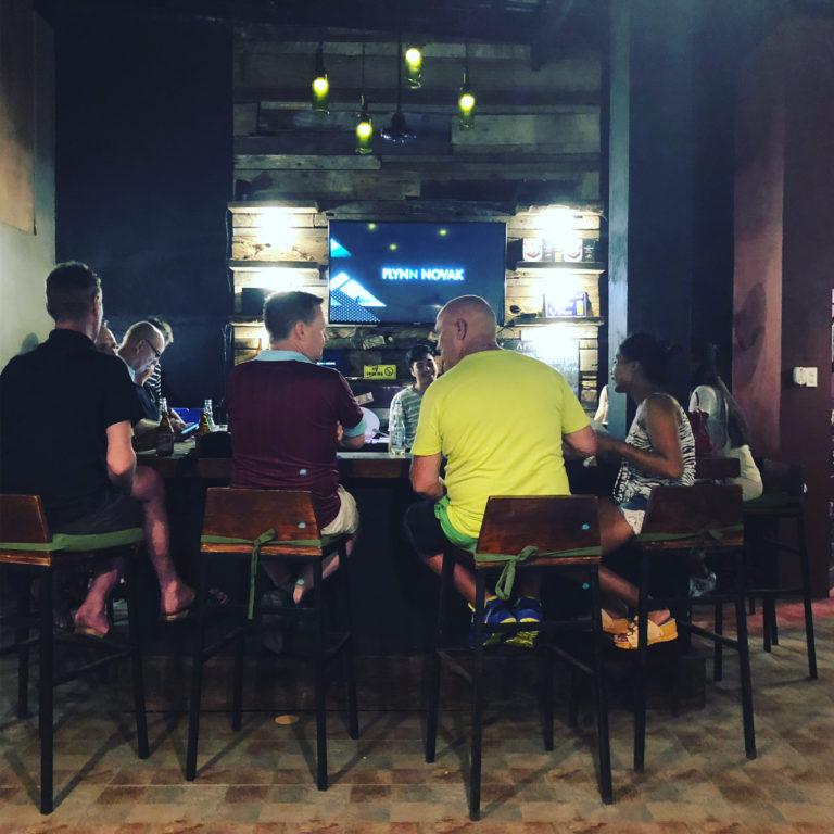 フィリピンの英会話カフェ